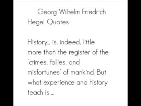 Georg Hegel   Part 3