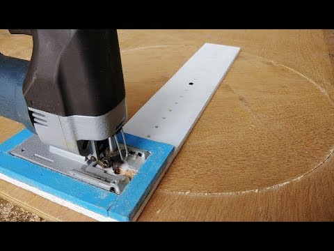How To Cut Perfect circle Jig By Jigsaw Machine || Jigsaw Trick/Hack