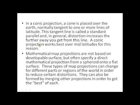 Lecture : 2 | ArcGIS 10 : Coordinate and Projection System