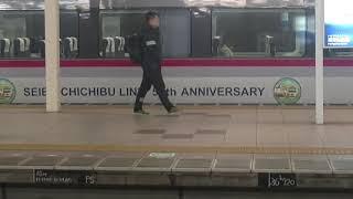 西武鉄道10110F(西武秩父線開業50周年)特急むさし号飯能行 入間市
