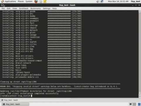 CentOS 6 Linux Terminal Server (LTSP)