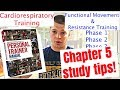 ACE Personal Trainer Exam Study Tips - chapter 5