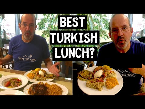 Eating the ULTIMATE Turkish Lunch | Van Life Turkey