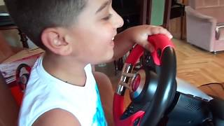 Обзор и тестирование игрового руля ACME Racing wheel RS realistic