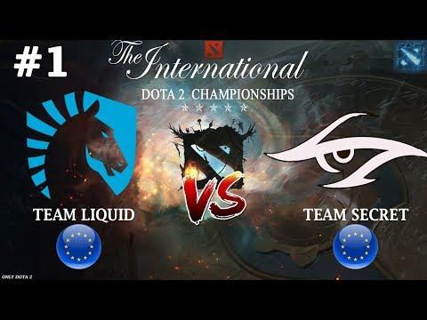 видео: Битва ВЕКА на ti8 | liquid vs secret #1 (bo3) | the international 2018