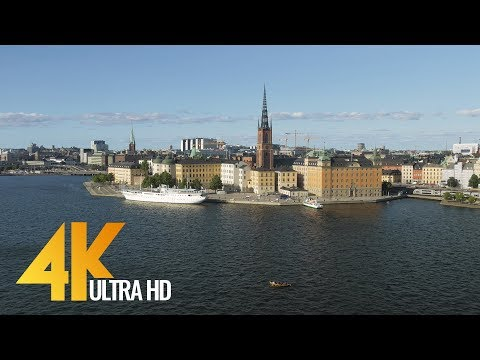 4K Stockholm, Sweden - Cities of the World | Urban Life Documentary Film - Part #2