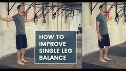 Single Leg Balance Drill | Improve Balance and Hip Stability