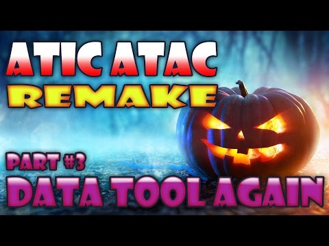 Atic Atac Remake Part 3 - Tool to create Room Data (cont.)