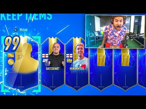 OMG I PACKED 3 ULTIMATE TOTS!! PACK CHALLENGE VS MINIMINTER!! FIFA 19