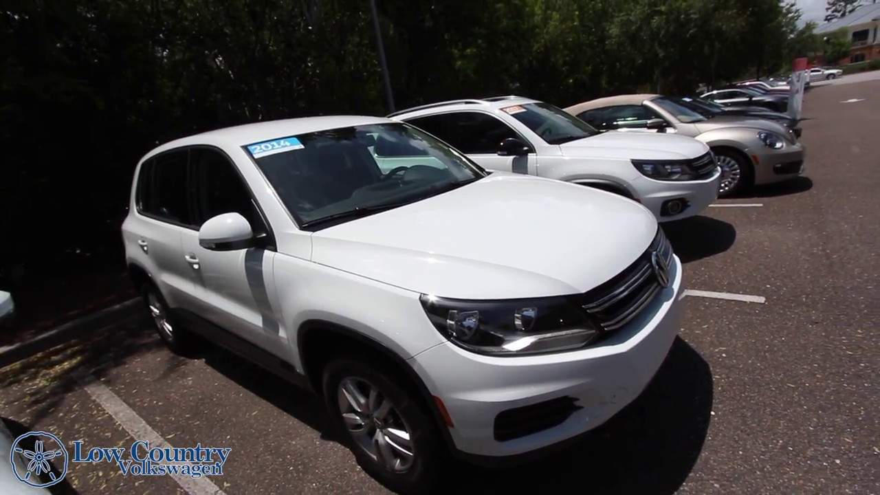Volkswagen Mt Pleasant >> 2014 Volkswagen Tiguan S For Sale Review Low Country Volkswagen Mt Pleasant Sc