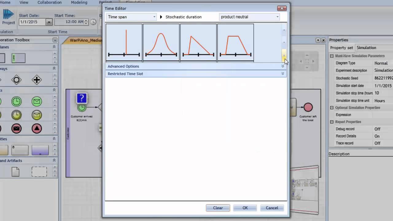 bpmn 20 simulation grundlegende einstellungen - Bpmn Simulation