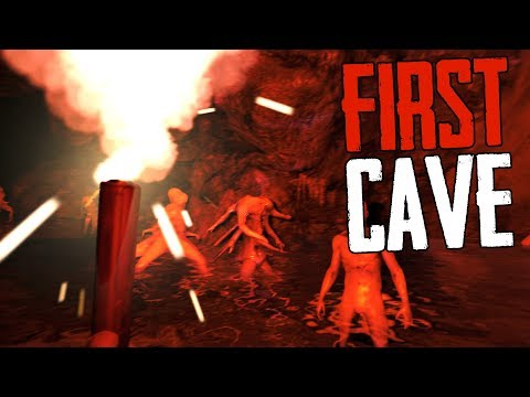 First time in the Caves! - The Forest Multiplayer w/ Boomer #4