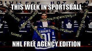 This Week In Sportsball: NHL Free Agency Edition