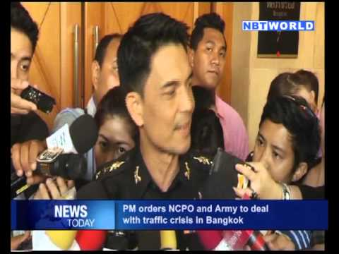 PM Orders NCPO and Army to Deal with Traffic Crisis in Bangkok