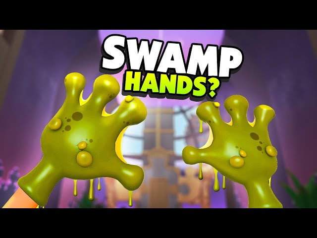My HANDS Become A SWAMP MONSTER Mutation - Floor Plan 2 VR