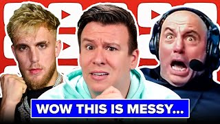 This Disturbing Jake Paul Scandal Just Got Worse, Joe Rogan Freakout, Josh Fight 2021, & More News