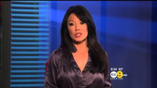 Sharon Tay 2012/10/22 KCAL9 HD