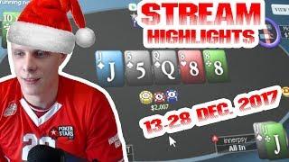 Новогодние хайлайты! 13-28 Dec stream highlights