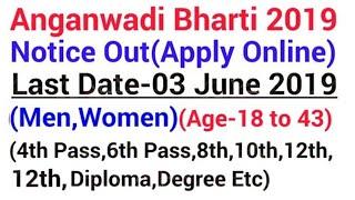 Anganwadi Recruitment 2019 Latest Govt jobs 2019 Latest Govt jobs 2019 May Anganwadi jobs