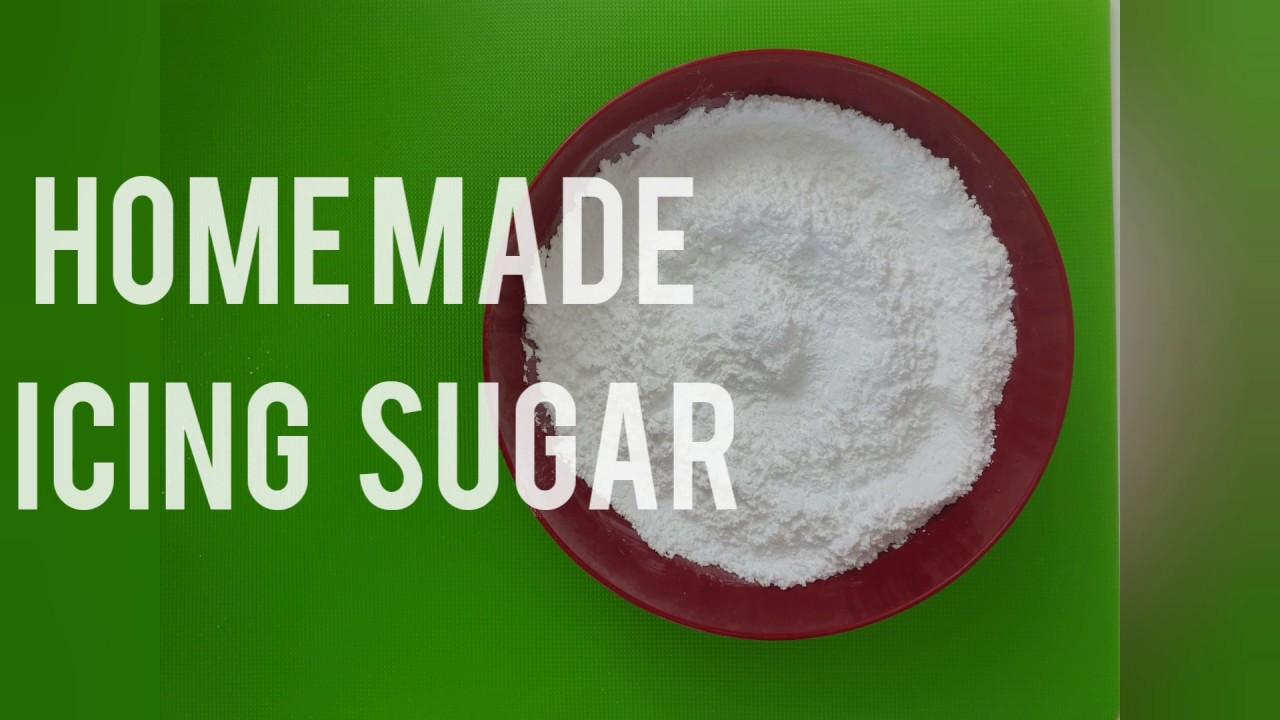 Homemade Icing sugar - YouTube