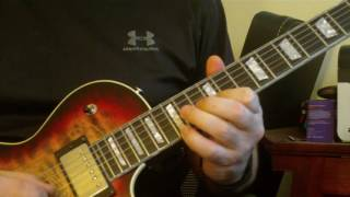 Black Crowes - Hard To Handle Guitar Solo Lesson 1st solo