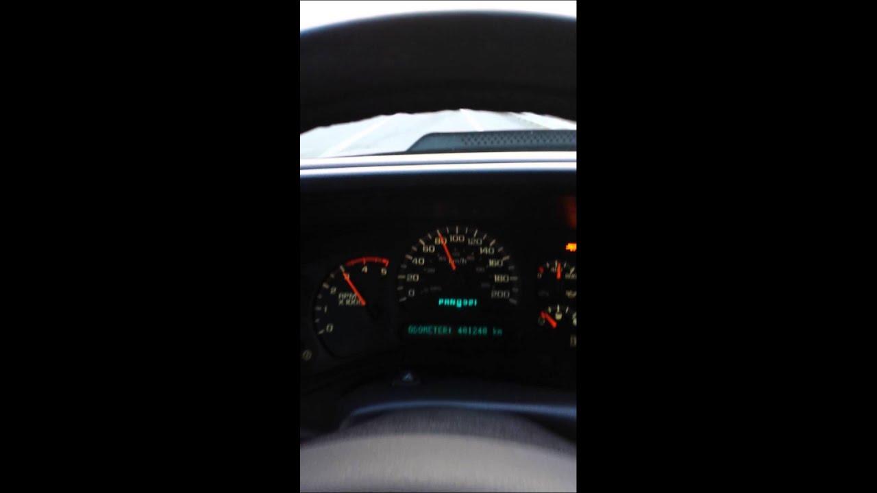 2005 Silverado LLY Duramax EFI Live Eco Tune Acceleration 60-150 km/h