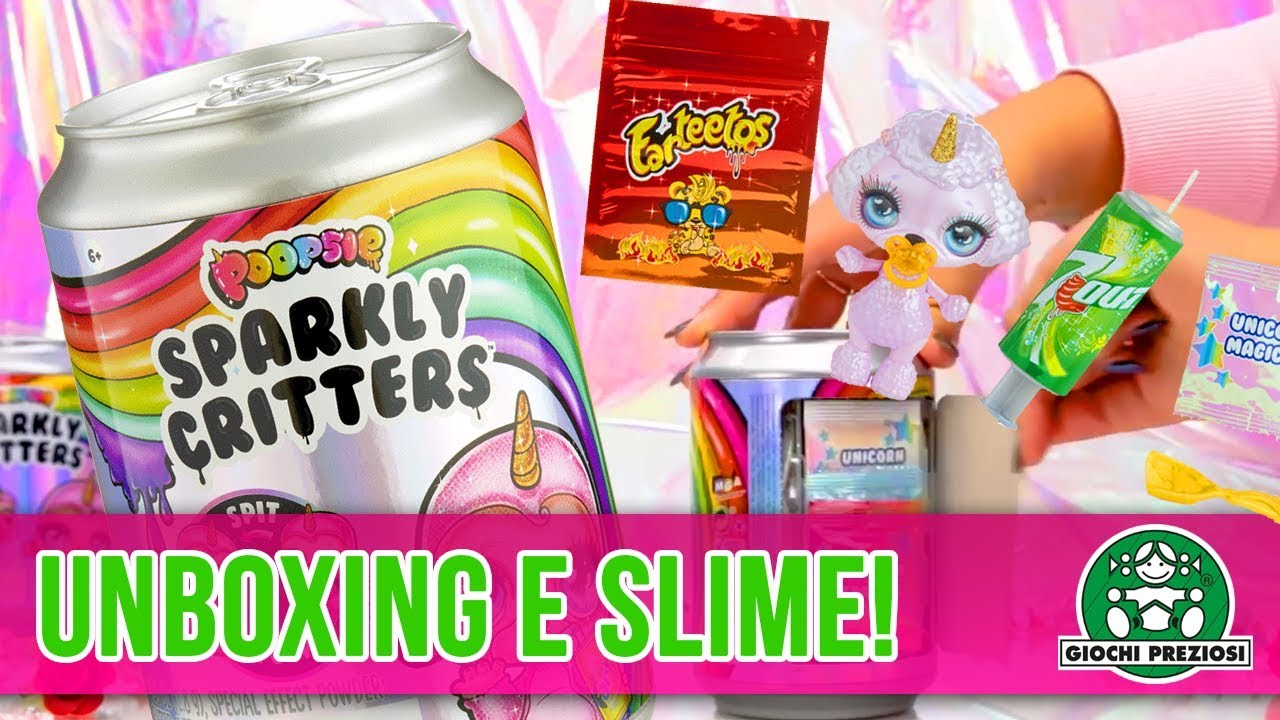 Giochi Preziosi | Poopsie Sparkly Critters - Unboxing