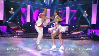 Camilla Läckberg – bugg - Let's Dance (TV4)