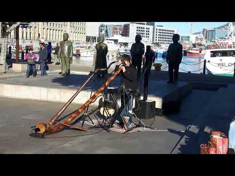 20170824 161452   Straatartiest Waterfront Kaapstad