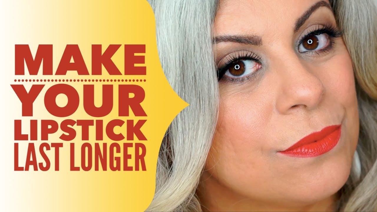 How To Make Lipstick Last Longer - Youtube-2311