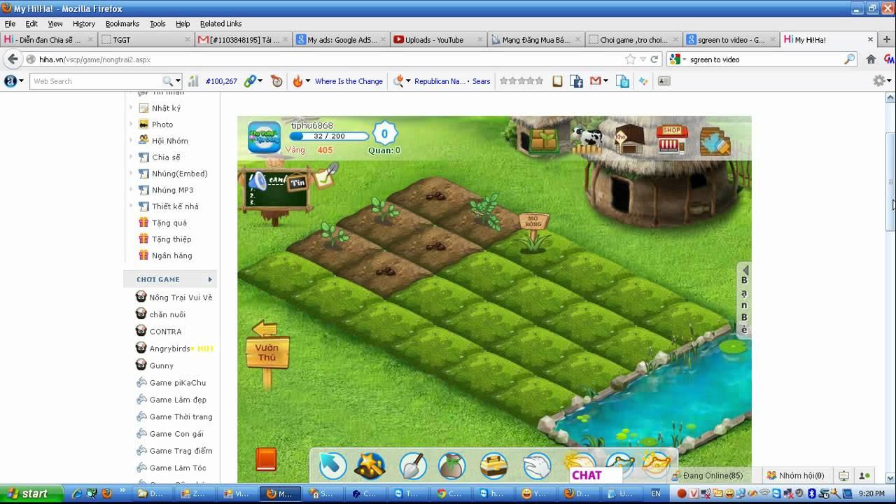 Hướng dẫn chơi game nông trại vui vẻ tại bumha.com