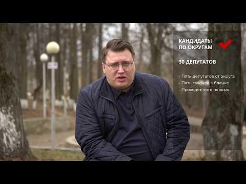 Бадеев Дмитрий. Два бюллетеня на выборах 21 апреля.