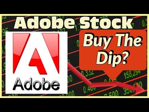 Adobe (ADBE) Stock Analysis - Buy The Dip In Adobe Stock?