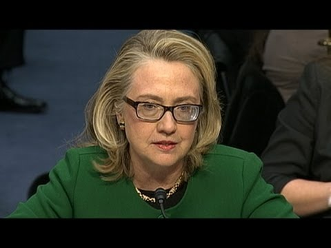 Hillary Clinton Testifies to Congress on Benghazi Consulate Attack, State Department Security