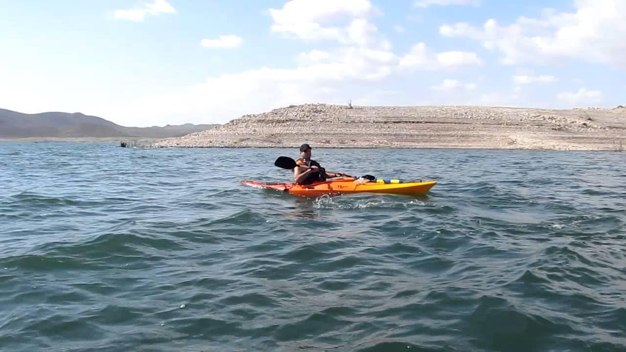 Kayaking Lake Pleasant, AZ 10-26-2011.MOV - YouTube