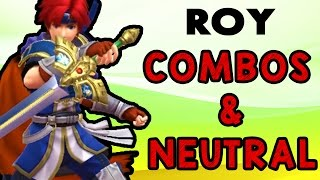 Roy Combos & Neutral ft. Ryo (Smash Wii U/3DS)