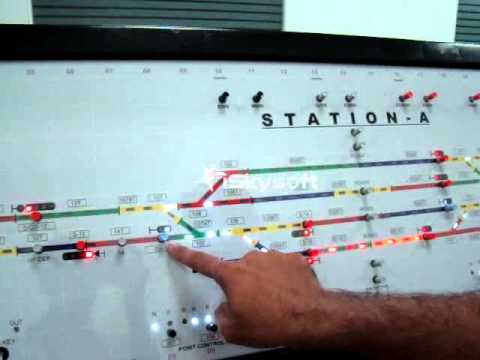 Rail Signalling Working Model - XI