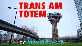"Drawing the ""Trans Am Totem"" by Marcus Bowcott, Vancouver - MV37"