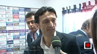 """La """"città dei due mari"""" e lo sport: ecco il nuovo Taranto calcio"""