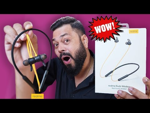 Realme Buds Wireless Unboxing & Review ⚡⚡⚡ 12 Hours Of Playback Time!!