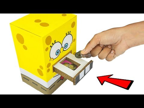 Spongebob DIY Coin Box