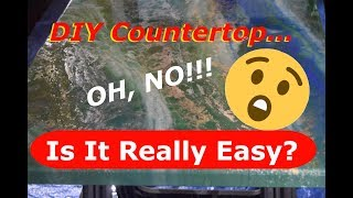 DIY Epoxy Countertop How To - Lessons Learned and Tips.
