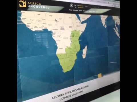 Africa Uncovered website
