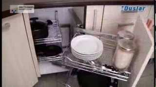 видео Угловой шкаф на кухню