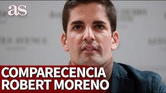 Comparecencia de ROBERT MORENO I Diario AS