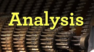 (3/4) Analysis: Explaining Fourier analysis with a machine