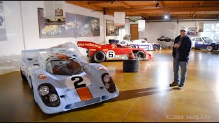 Canepa shop tour with Bruce Canepa