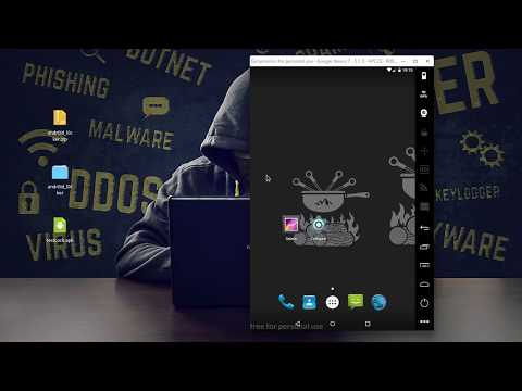 Infectar Android com Ransomware