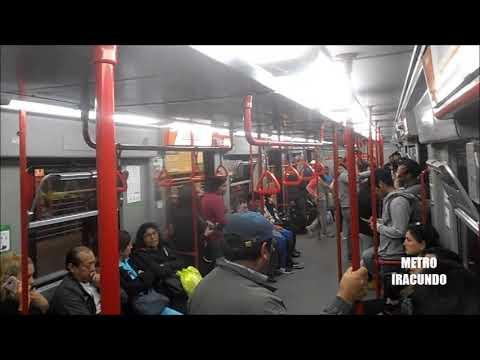 Viajando en el Metro de Lima , diciembre  2017.