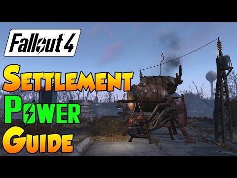 Fallout 4 Settlement Guide - Settlement Power Guide